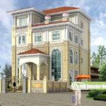 European Retro Style Luxury Villa Design