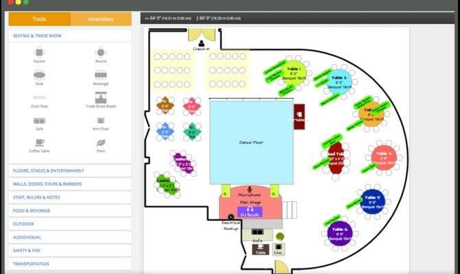 Event Floor Plan Software Floorplan Creator Maker
