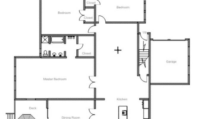 Example Floor Plan Drawing Homes Plans
