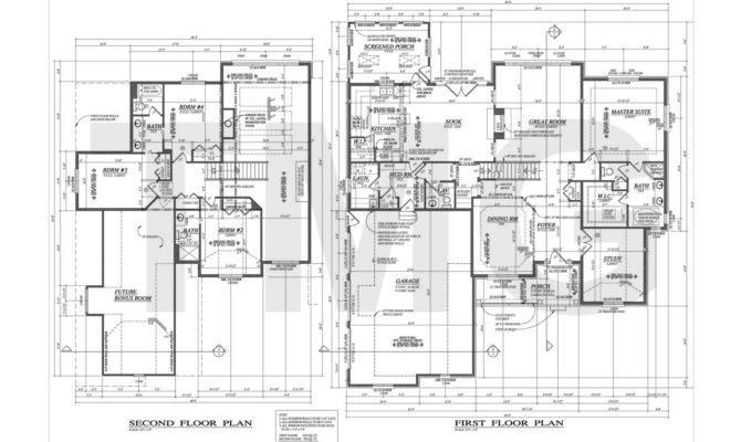 Exceptional Sample House Plans Foundation