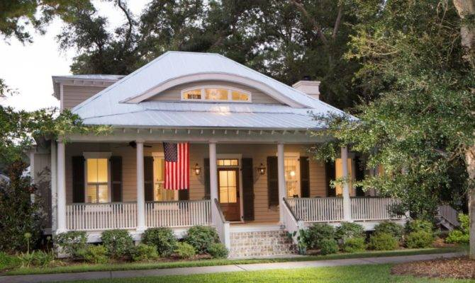Exciting Bermuda Bluff Cottage Contemporary Plan
