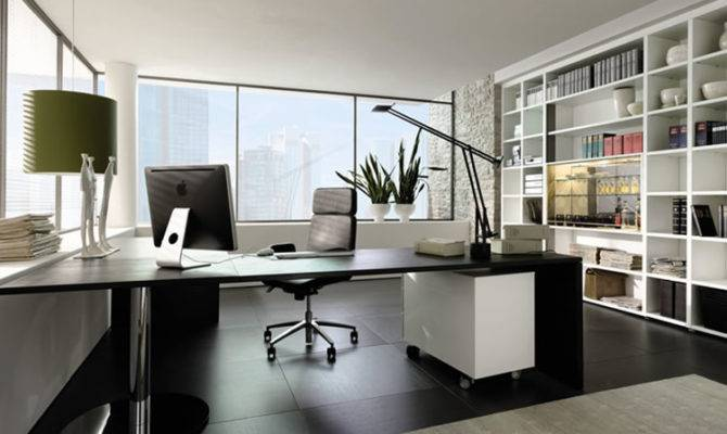Exclusive Modern Office Design Contemporary Interior