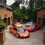 Exotic Car Collection Micro Dream Garage