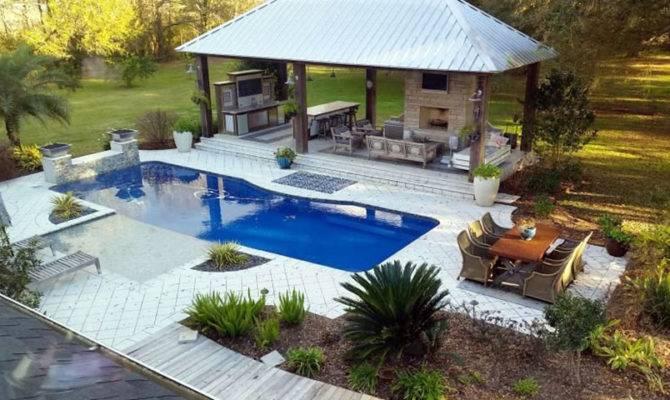 Exotic Pool Cabana Ideas Design Decor