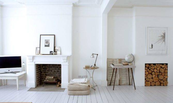 Exposed Brick Fire Place Pinterest