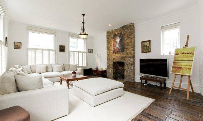 Exposed Brick Fireplace Playing House Pinterest