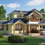 Exquisite Sloping Roof Villa Design