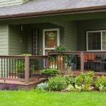 Extend Your Front Porch Entryway Deck Makes Statement