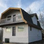 Exterior Barn Style Shed Loft Gambrel Also