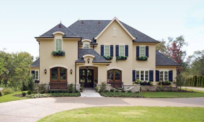 Exterior Colors French Home Design Ideas