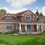 Exterior Craftsman House Designs Plan