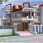 Exterior Design House India Kerala Home Floor Plans