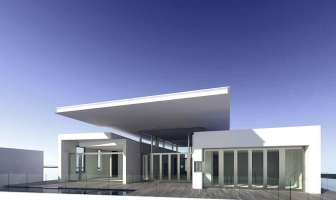 Exterior Design Modern Minimalist Home House Style