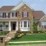 Exterior House Designs Stone Design Fake Siding