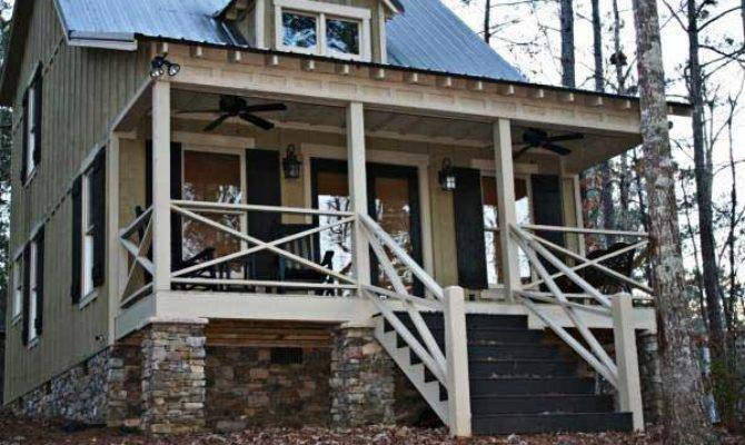 Exterior House Lake Mountain Cabin Photos