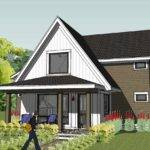 Exterior Simple Unique Modern Cottage Design Check Out