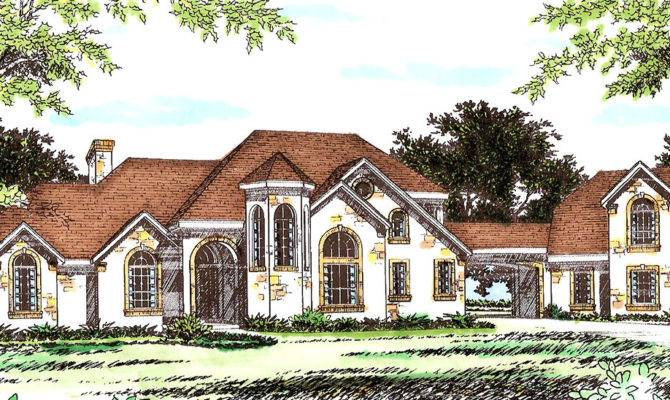 Extravagant Hill Country House Plan