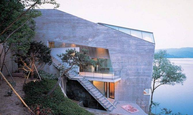 Extreme House Designs Geometrical Sloping Design