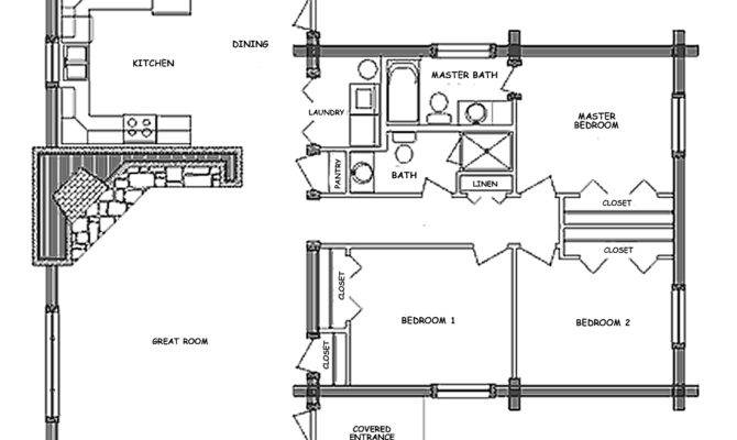 Fabulous Pioneer Log Home Floor Plans