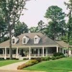 Fabulous Single Story House Plans Wrap Around Porch Decorating