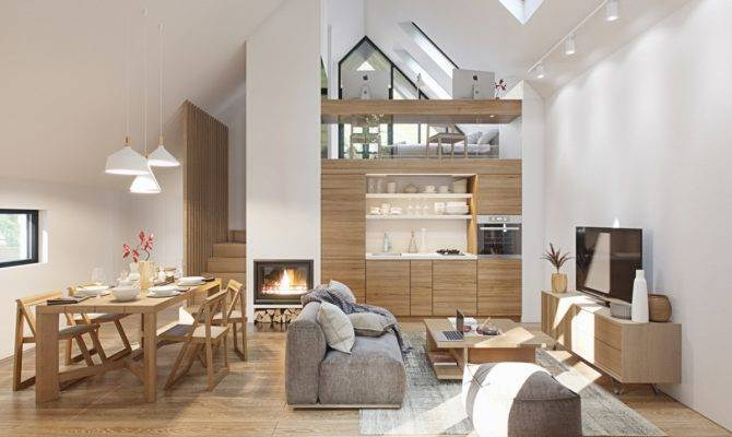 Fabulous Studio Apartments Arranged Stylish Loft