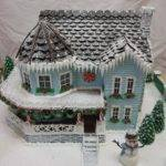 Fabulously Decorated Effingham Gingerbread House Michele Mitchell