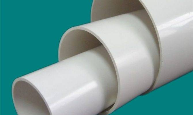 Factory Price Round Pvc Plastic Pipe Cold Hot