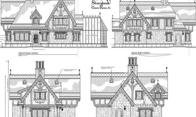 Fairy Tale Cottage House Plans Cape Atlantic Decor