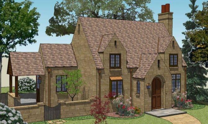 Fairy Tale Cottage House Plans English