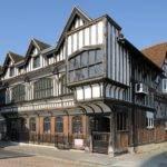 Famous Tudor Architecture House Garden
