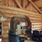 Fancy Lake House Plan Small Log Home Heartwood Homes