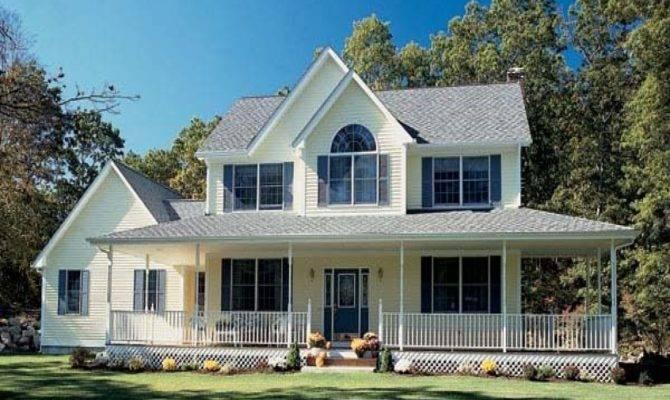 Farm Style House Plans Wrap Around Porch