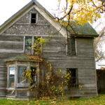 Farmhouse Abandoned Decay Old Rural Farm Country New