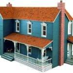 Farmhouse Dollhouse Vintage Woodworking Plan