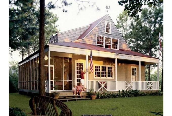 Farmhouse House Plan Nautical Cottage Southern Living