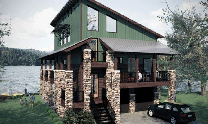 Farmhouse Plans Lake House