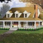 Farmhouse Plans Southern House Ranch More