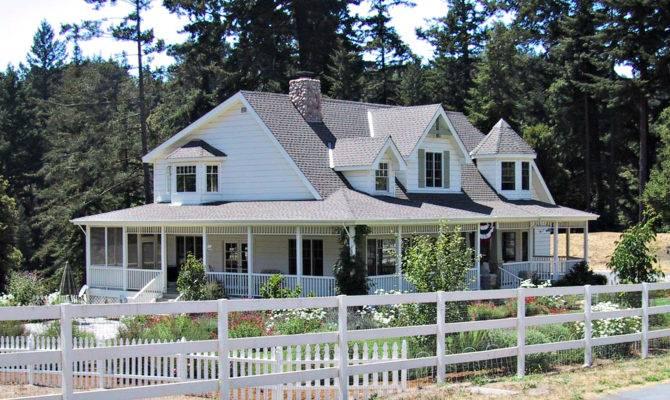 Farmhouse Wraparound Porch Imagine House