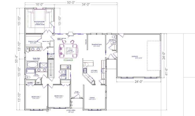 Farmington Ranch House Plans