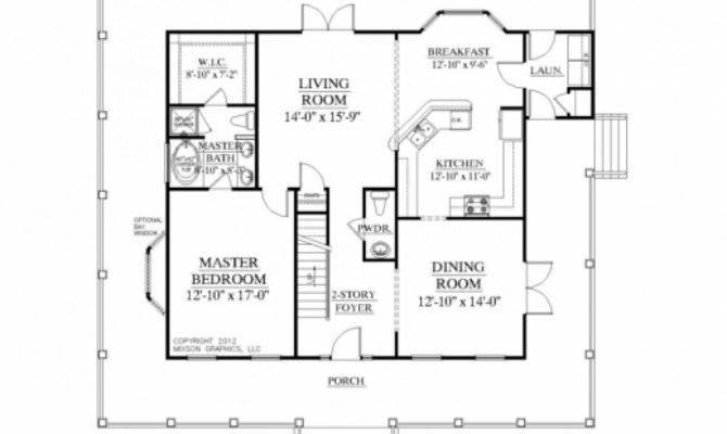 Fascinating Bedroom Bath Floor Plans