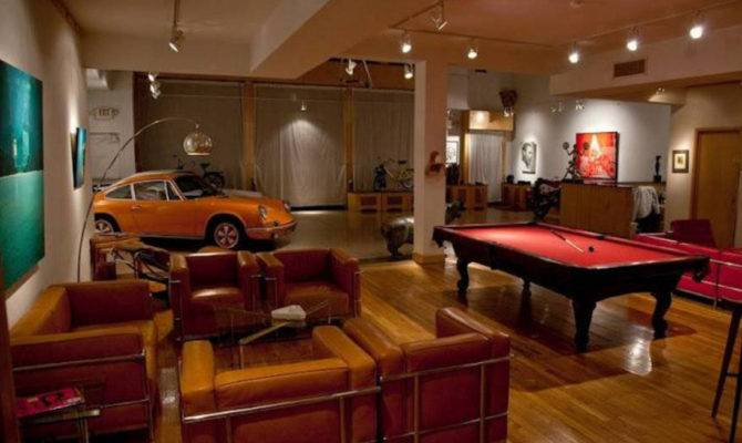 Fascinating Man Cave Garage Bar Best Idea Home