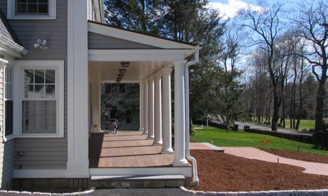 Federal Front Porch Waltersdesignstudio Architecture