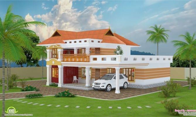 Feet Beautiful Villa Design Kerala Home