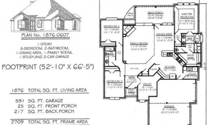 Feet Bedroom House Plans