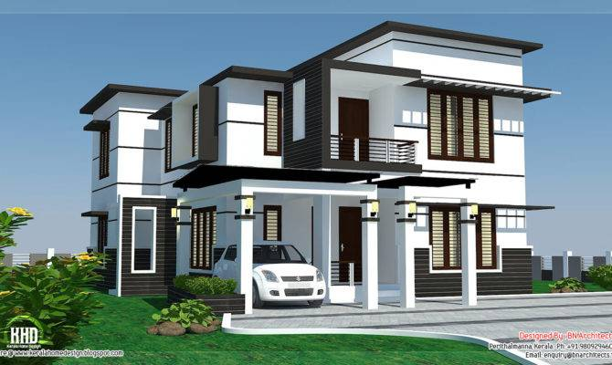 Feet Bedroom Modern Home Design Kerala
