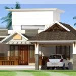 Feet Bedroom Single Storey House Kerala Home Design