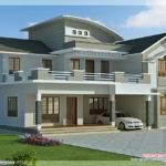 Feet Bedroom Villa Design House Plans