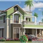 Feet Contemporary Mix Bhk House Kerala Home Design Floor Plans