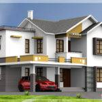 Feet Double Floor Indian House Plan Home Appliance