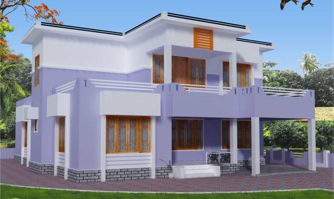Feet Flat Roof House Design Kerala Home